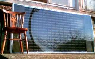 Отопление дома солнечными коллекторами