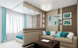 Способы разделения комнаты на спальню и гостиную