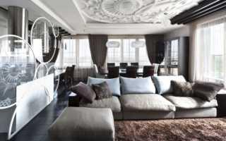 Способы зонирования гостиной, идеи дизайна
