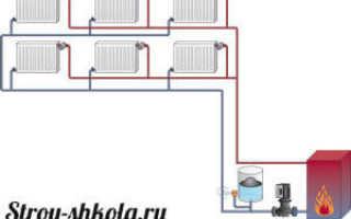 Делаем двухтрубную систему отопления частного дома – инструкция