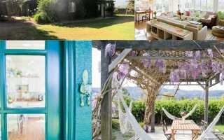 Оригинальный дом мечты в горах из заброшенного сарая