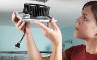 Особенности установки вытяжного вентилятора в ванной комнате