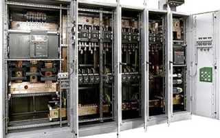 Электрический щит с монтажной панелью: предназначение