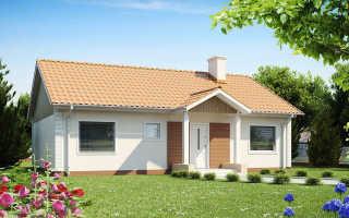 Крыши одноэтажных домов: фото оригинальных решений