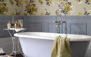 Как выбрать качественные обои для ванной