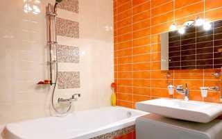 Интересные варианты дизайна ванной комнаты 3×3 метра
