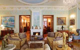 Отреставрированный исторический дом с современным роскошным интерьером