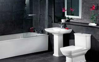 Дизайн ванной комнаты в черных тонах. Особенности и нюансы оригинального оформления