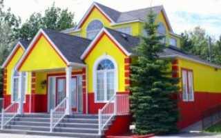 Какой краской лучше покрасить фасад дома