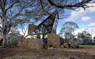 Современный ковбойский «дом лунного света»; от креативного творца джованни д#8217;амбросио, австралия