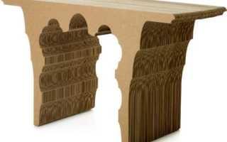 Кровать из картона leafbed: спартанская мебель