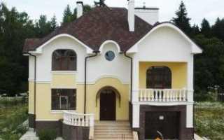Проекты двухэтажных домов из пеноблоков – практичное решение