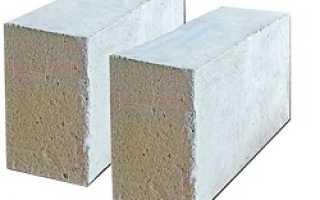 Газоблоки при строительстве домов