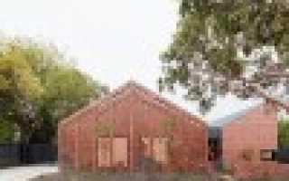 Одноэтажный дом в гармонии с природой — birchgrove house в сиднее, австралия. проект pearse architects and brian kiernan