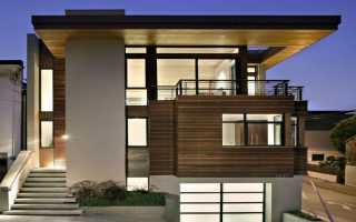 Оригинальный дизайн-проект загородного дома с элементами минимализма