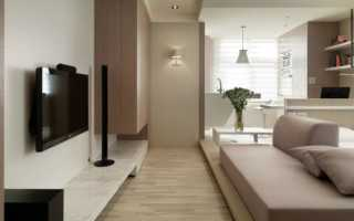 Дизайн однокомнатной квартиры — 70 фото