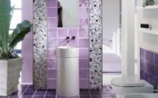 Сиреневая ванная комната: почему стоит отдать предпочтение этой цветовой гамме?