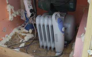 Использование абиссинской скважины зимой