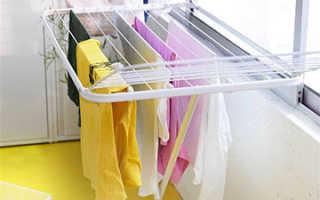 Потолочная сушилка для белья в ванную – хорошие хозяйки оценят