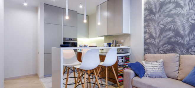 Как создать проект кухни-гостиной для небольшого помещения
