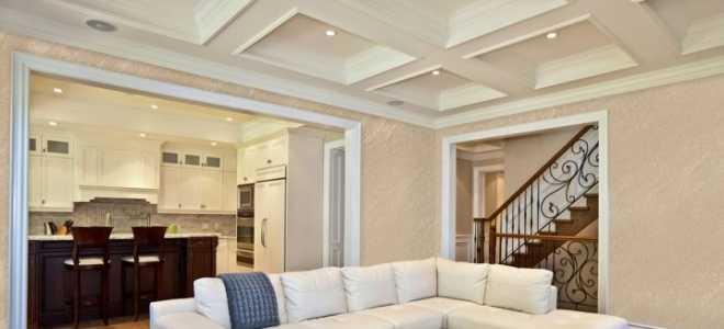 Многоуровневые потолки в интерьере квартиры
