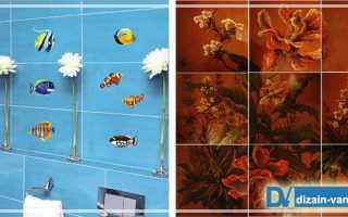Декорирование отделки ванной комнаты: декор и декупаж для ванной комнаты