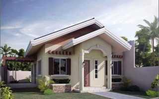 Оригинальный консольный дом на маленьком участке