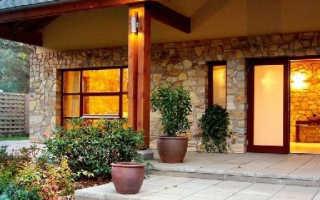 Оформление входа в дом: необычные и стильные решения