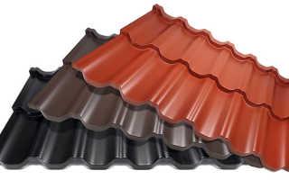 Крыши домов из металлочерепицы