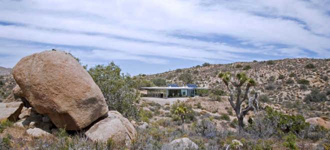 Любителям творческого уединения – сборный каркасный дом для летнего отдыха с солнечными батареями