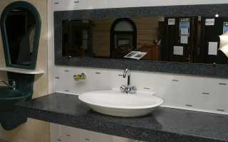 Столешница, которую вы сделаете в ванную своими руками, будет лучшей