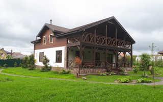 Деревянные загородные дома: каркасные постройки
