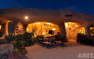 Пещерный дом флинстоунов в малибу – уникальное домовладение продается за $3,5 млн