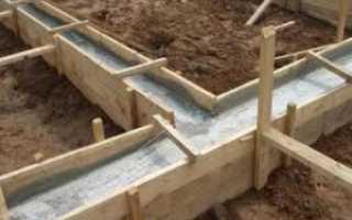 Как залить фундамент под дом своими руками — методика + видео