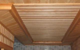 Потолок в бане делаем качественно и надежно
