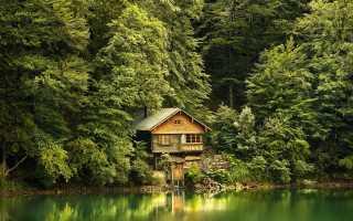 Загородный дом в лесу: интересные идеи оформления