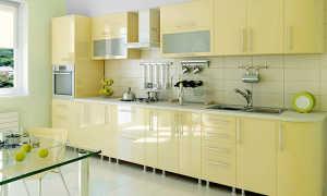 Основные материалы, применяемые для изготовления кухонной мебели
