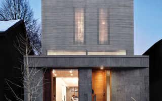 Потрясающий небольшой дом в торонто для европейской семьи от paul raff studio