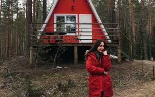 Потрясающий загородный дом в лесной глуши с прекрасным видом на озеро