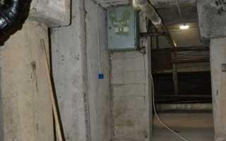 Освещение в подвале жилого или многоквартирного дома