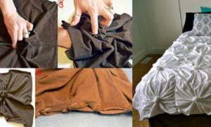 Выбираем или делаем покрывало на кровать своими руками (60 фото)