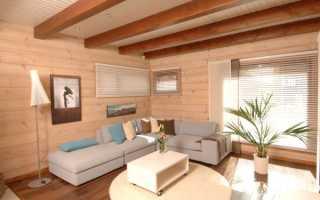 Покраска внутри деревянного дома: искусственные и натуральные покрытия