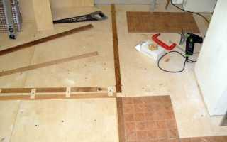 Плитка на фанеру в ванной – надежный и практичный заменитель бетона
