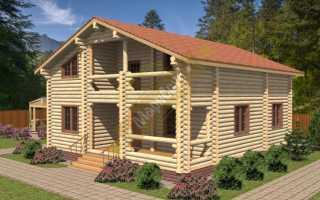 Дом площадью 160 кв. метров на опушке леса
