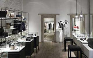 Потрясающий дизайн-проект магазина одежды quique