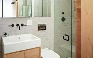Ванная комната в хрущевке: дизайн интерьера