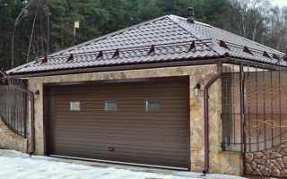 Как перекрыть крышу гаража