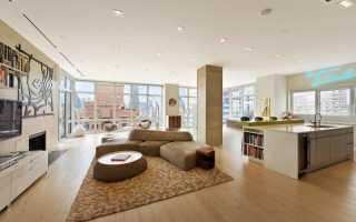 Эксклюзивный интерьер пентхауса в стиле модерн с восхитительными контрастами
