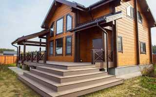 Пристройка к деревянному дому веранды и террасы: виды и фото
