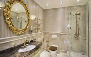 Ванная комната в классическом стиле: плитка и мебель для ванной комнаты в классическом стиле